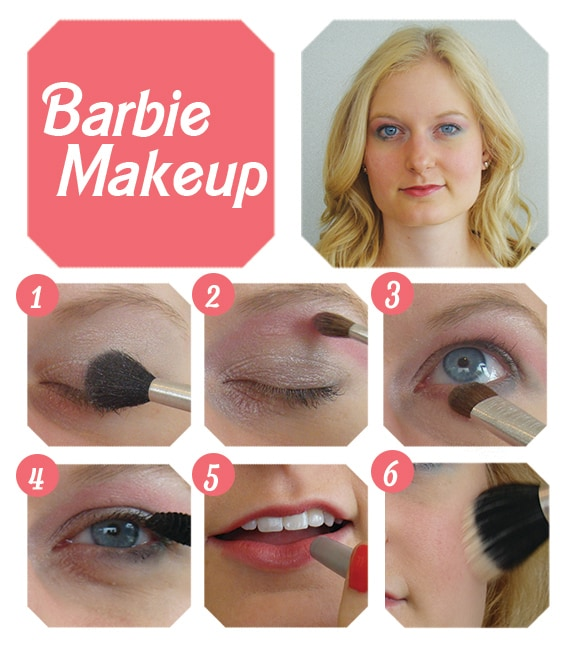 Barbie Makeup Looks Barbie Makeup Tutorial