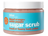 Photo of Bliss Blood Orange + White Pepper Sugar Scrub