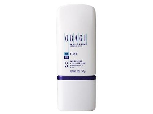 Bộ mỹ phẩm Obagi nu-derm dưỡng trắng da, dành cho da nám, tàn nhang, vết nhăn da