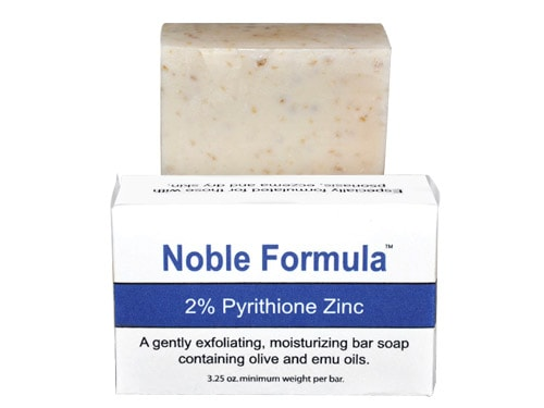 Calming zinc soap