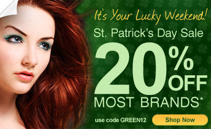 Shop our St. Patrick's Day Sale! 20% off most brands!